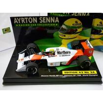 Minichamps 1/43 Mclaren Mp4/4 Honda F1 Senna Asc24 1988 Wc