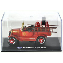 Unique Replicas 1:43 - 1920 Ford Model T Fire Truck Vermelho
