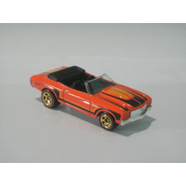 Hot Wheels T-hunt 2012 70 Chevy Chevelle Convertible