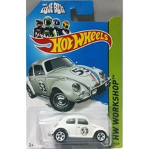 Hot Wheels Carros Básicos Volkswagem Beetle (53 Branco)