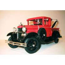 Promoção Ford Model A Tow Truck 1931 Antigo 1/18 Signature