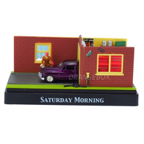 Diorama Saturday Morning Mercury 1949 Motormax 1:64 73647