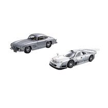 Kit Com 02 Miniaturas Mercedes 300sl E Mercedes Clk