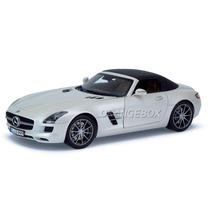 Mercedes Benz Sls Amg Roadster 2011 Norev 1:18 Branco 183491
