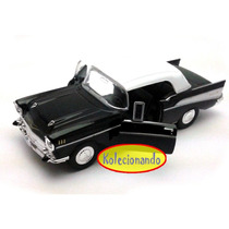 Welly 1:34 - 57 Chevrolet Bel Air Soft Top - Preto