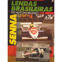 Lendas Brasileiras Ed. 05 Ayrton Senna Toleman Tg184