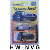 Matchbox Superfast 2006 Dodge Charger R/t (lacrado)