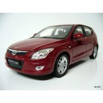 Hyundai I30 1/24 Welly Carro Lindo Miniatura Promoção Novo
