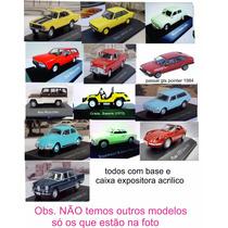 Miniatura Carros Inesquecíveis Brasil Planeta Deagostini