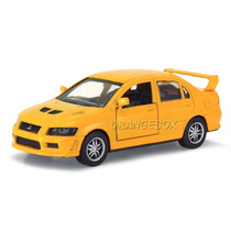 Mitsubishi Lancer Evolution Vii New Ray 1:32 Amarelo 3426-7