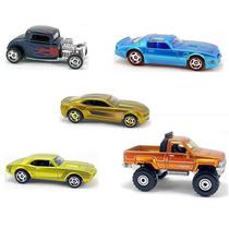 Hot Wheels Coleção Cool Classics A 5 Miniaturas Lacrados Nf