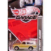 Hot Wheels Garage 1970 Chevy Blazer (lacrado, Raro)