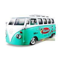 Kombi Miniatura Volkswagen Van Samba Maisto All Stars 1:25
