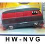 Hot Wheels 1:50 Vw Volkswagen Kombi 58 Panel Bus Rat Rods