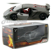 Lamborguini Sesto Elemento Need For Speed 1/24 Maisto Carro
