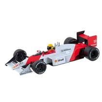 1:43 Ixo Miniatura Mclaren Mp4-4 1988 Senna Lendas Brasileir