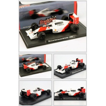1:43 Atlas A. Senna Mclaren Honda Mp4 5 B #27 World Champion