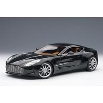 Miniatura Aston Martin One 77 Auto Art Preto 1:18