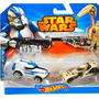 Hot Wheels Star Wars- Pack 501st Clone Trooper E Battledroid