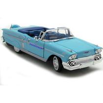 Impala 1958 Cabrio Miniatura Escala 1,24*scania*opala Maveri