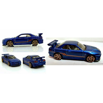 Hot Wheels 2014, Workshop, Then And Now Nissan Skyline Gtr34