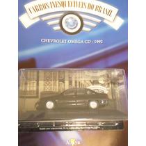 Carros Inesquecíveis Brasil Ed 75 Chevrolet Omega Cd 1992