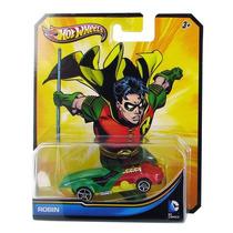 Miniatura Hot Wheels Dc Comics Robin Lacrado Nota Fiscal