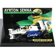 Minichamps 1/43 Toleman Tg184 F1 1984 Asc 13 Senna Monaco Gp