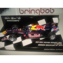 1:43 Vettel Red Bull Rb6 Winner Brazilian Gp Formula 1 2010