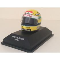 Minichamps 1/8 Capacete Senna 1990 F1 Mclaren Mp4/5b