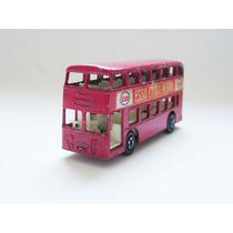 Matchbox Lesney Daimler Bus Ônibus Superfast Transicional