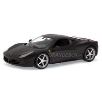 Ferrari 458 Italia Hot Wheels 1:24 Preto Bck05