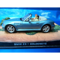 007 James Bond B M W Z 3 Diorama Goldeneye Esc 1:43