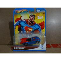 Superman Car - Super Homem - Dc Universe - Hot Wheels 2011