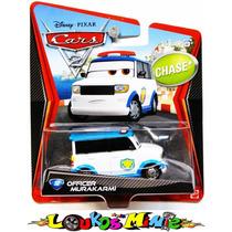 Disney Cars 2 Officer Murakarmi Chase Lacrado Orig. Mattel