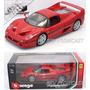 1/18 Bburago Ferrari F50 Vermelha 1995. Relançamento 2015!!
