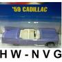 Hot Wheels 59 Cadillac Eldorado Caddy Lacrado Hw-nvg