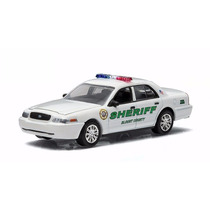 Greenlight Country Roads 13 Ford Police Interceptor Sheriff