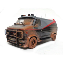 A-team Gmc Van 1983 - Esquadrão Classe A 1:43 Hot Wheels