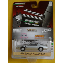 Pontiac Firebird 1979 Greenlight Esc: 1,64 Pneus De Borracha