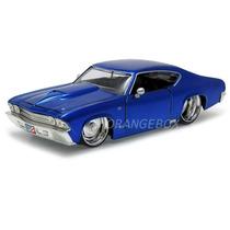 Chevy Chevelle Ss 1969 1:24 Jada Toys 90340-azul