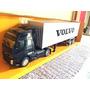 Miniatura Caminhão, Volvo Fh, Com Baú Escala 1/32.