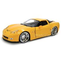 Chevy Corvette 2006 Z06 Jada Toys 1:24 91183-amarelo