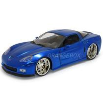 Chevy Corvette 2006 Z06 Jada Toys 1:24 91183-azul