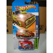Hot Wheels Ford F-100 56 E Vw Kool Kombi 1:64