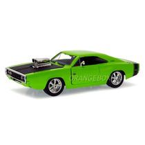 Dodge Charger R/t 1970 Jada Toys 1:24 96953-verde