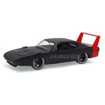 Dodge Charger Daytona 1969 Jada Toys 1:24 96856-preto