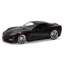 Chevy Corvette 2006 Z06 Jada Toys 1:24 91183-preto