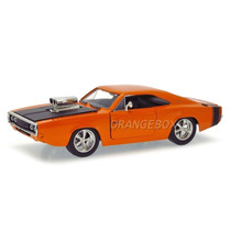 Dodge Charger R/t 1970 Jada Toys 1:24 96953-laranja