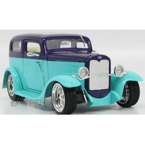 Ford Model A Sedan 1931 1/18 Yatming Antigo Reliquia Gm Lind